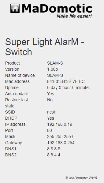slam-s info