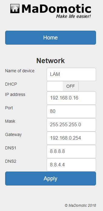 LAM Network